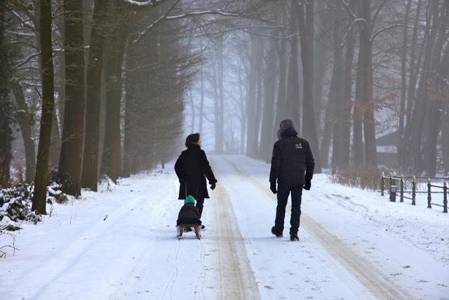 Verstild winterlandschap in de omgeving van Vorden (foto: Hans Thijssen)