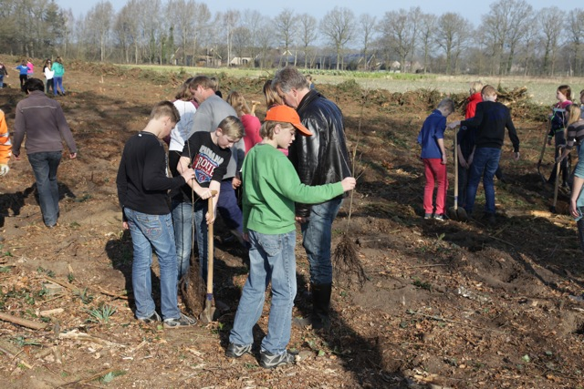 Boomplantdag 2014 (Het Hoge) (4)