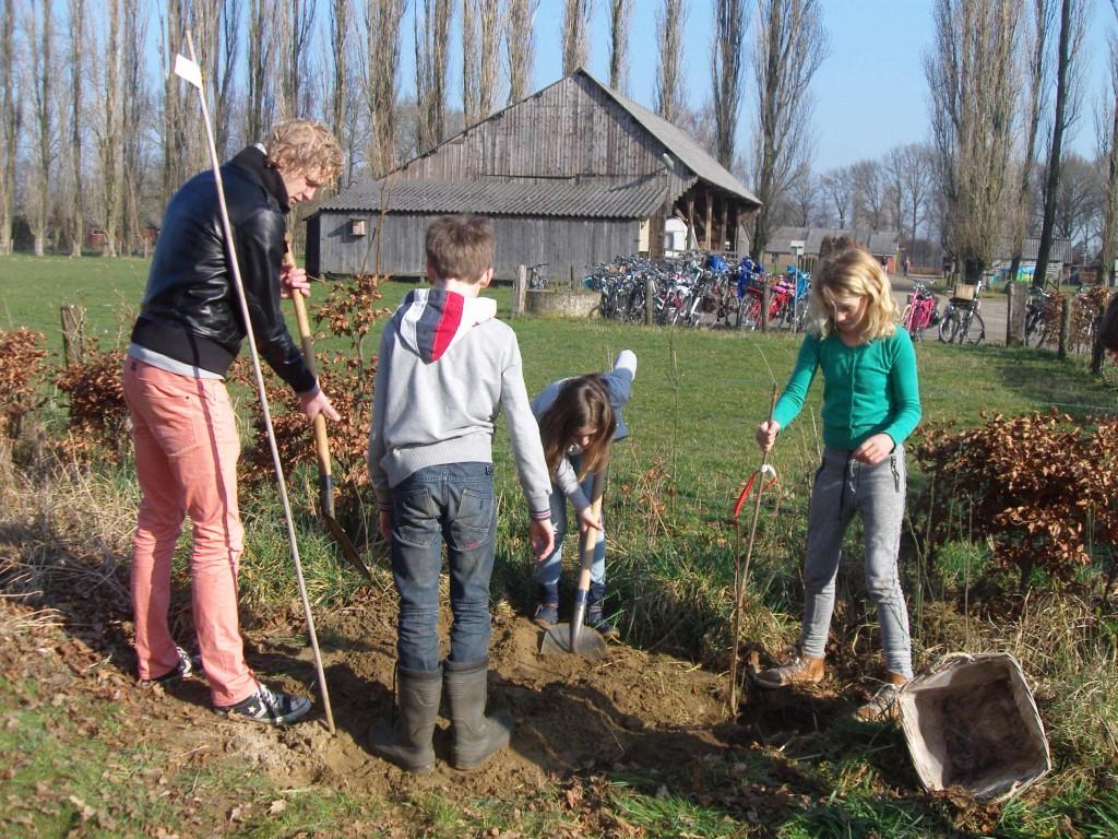 Boomplantdag 2014 (Piersonschool Hengelo) (3)