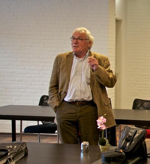 De nieuwe voorzitter van Vereniging Bomenbelang: Cees van der Jagt (foto: Hans Thijssen).